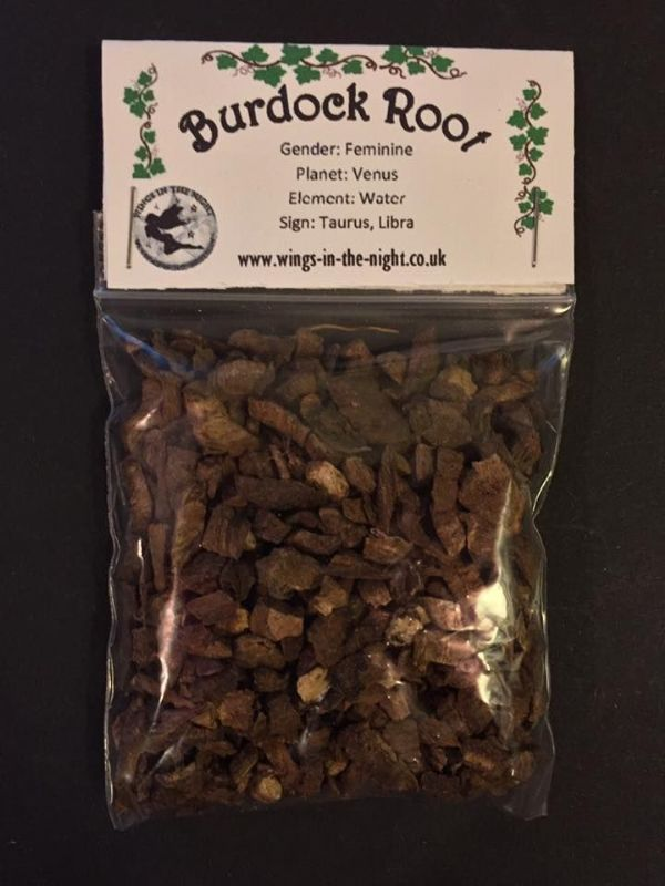 BURDOCK ROOT (25g) Dried Magical Herb